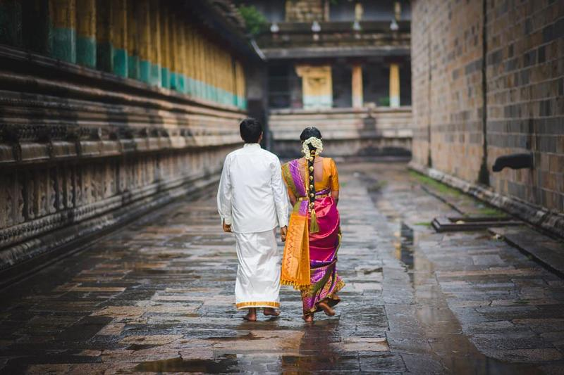 Gokul + Kirithiga - Chidambaram Temple Wedding