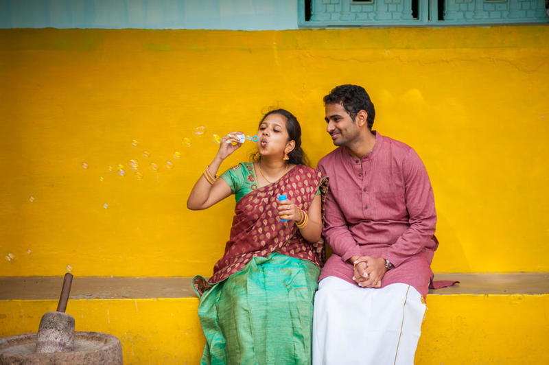 Preethi + Gopi - a couple shoot at Coimbatore