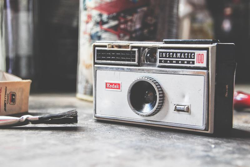 Kodak Instamatic Vintage Camera
