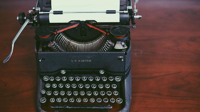 LC Smith Vintage Typewriter