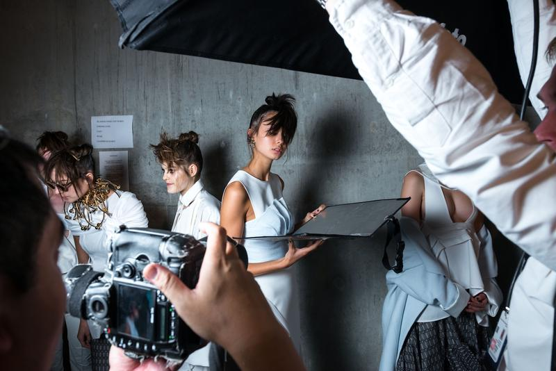 Behind the scenes - Fabotella's photo shoot