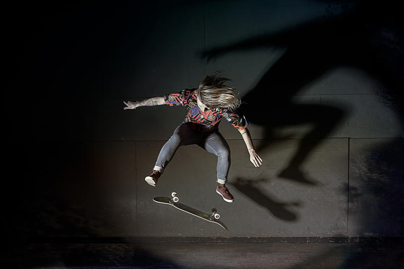 Candy Jacobs skateboarder