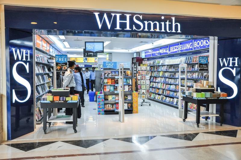 whsmith store, dlf prominade, new delhi