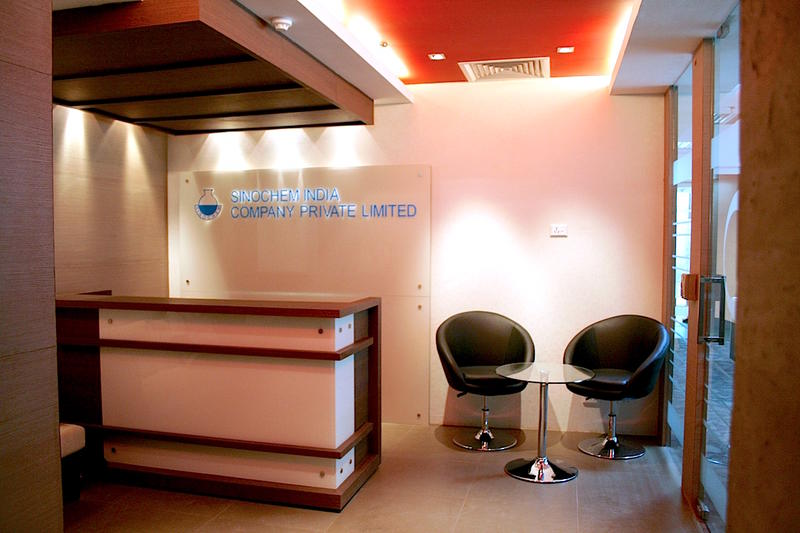 sinochem's office, m6 plaza, jasola,delhi
