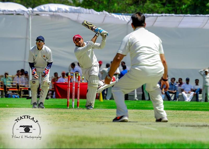 Corporate XI vs commissioner XI (Delhi Police),cricket match'17