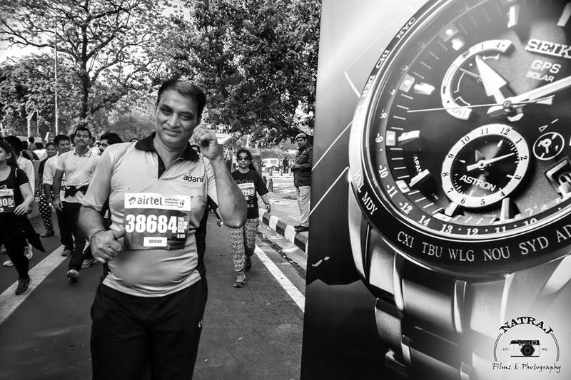 Airtel Delhi Marathon ' 16 for Adani group team
