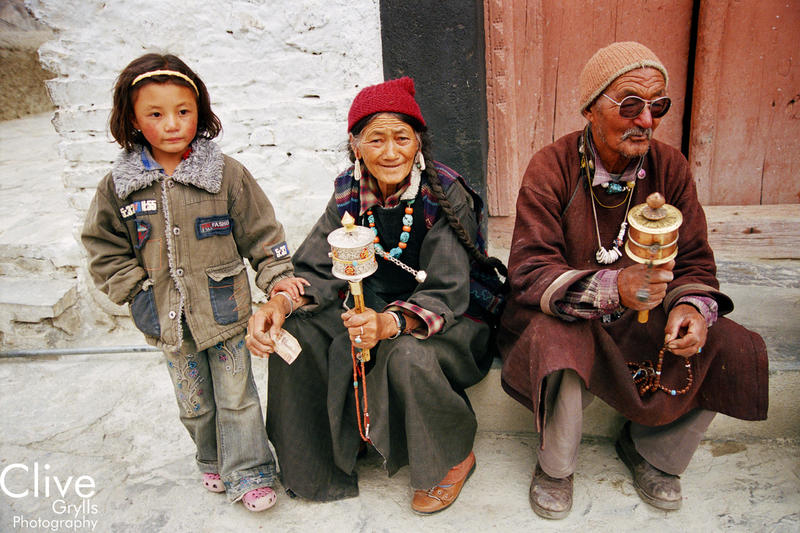IMAGE LIBRARY LADAKH : PEOPLE