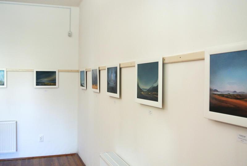'Balaton Áramlatok' / 'Balaton Flow' solo exhibition Hungary 2016