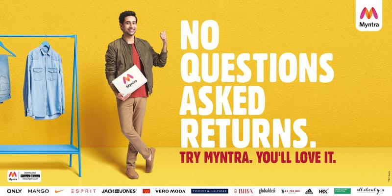 Myntra Campaing with Suraj Sharma