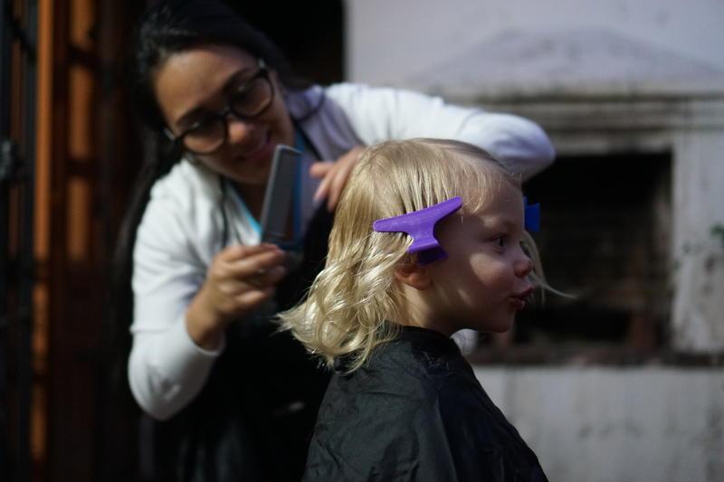 Jagger's 1st Haircut!