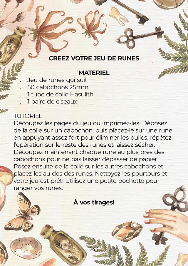 Manuel de divination runique - PDF