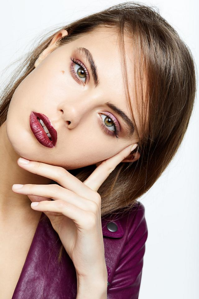 French Lip Beauty Editorial