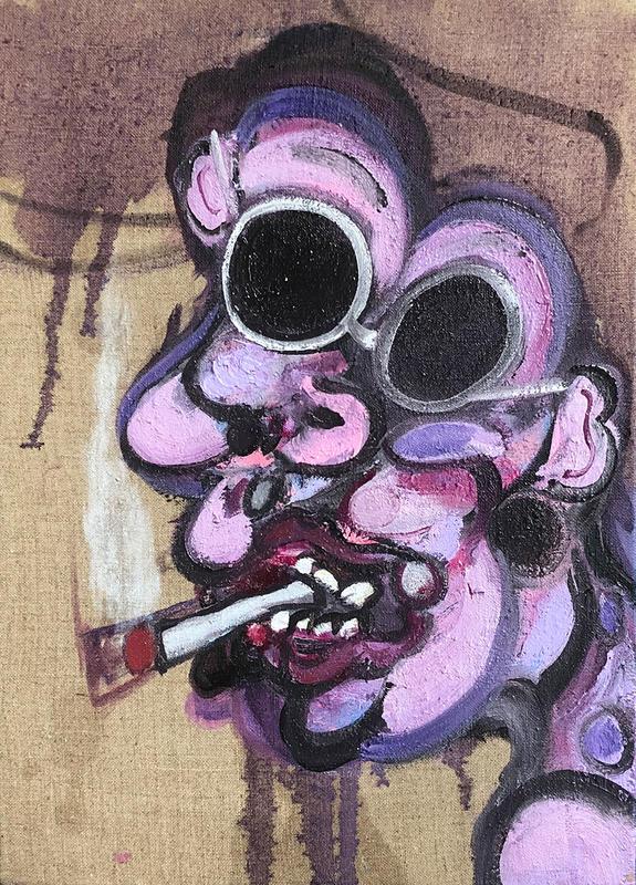 malborough man / 40 x 30cm / oil on canvas / 2018 / private collection