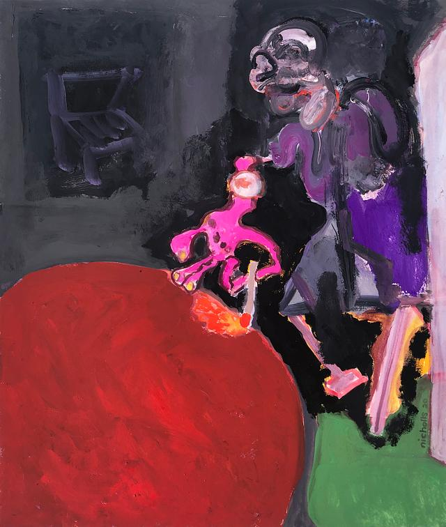 leswidden_ version 1 / gouache and watercolour on paper / 42.7cm x 51cm / 2020