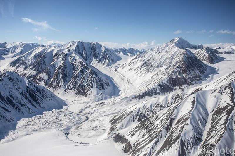 Kaskawulsh Glacier, St. Elias Mountain Range