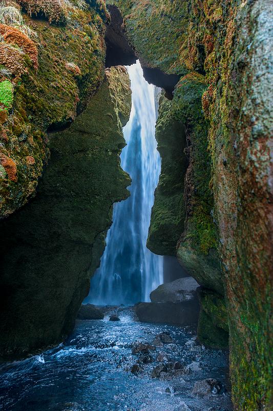Underground Waterfall