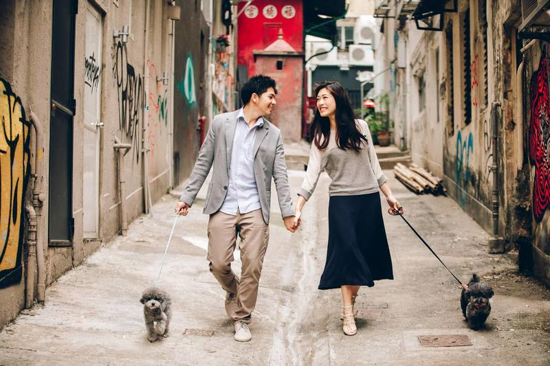 Jenny + Shelton | Puppies Love in HK