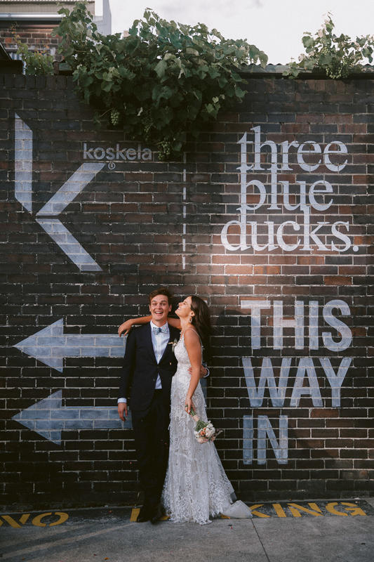 Holly + Paul | Observatory Hill | Three Blue Ducks