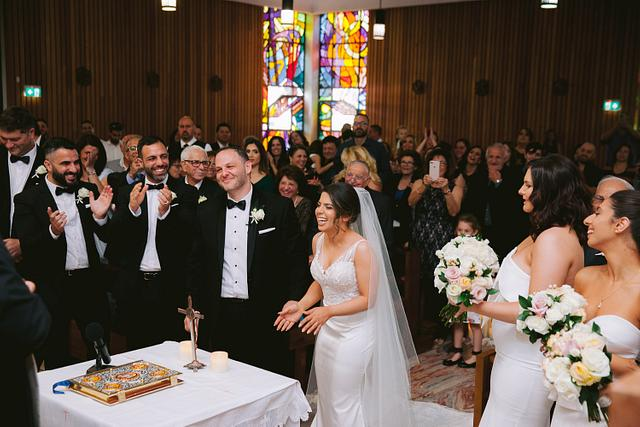 Hanien + Joseph | St Gertrude's Catholic Church | Lantana Venues