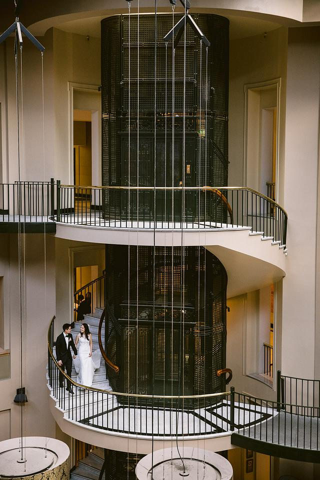 Amanda + Brendan | InterContinental Sydney | MCA