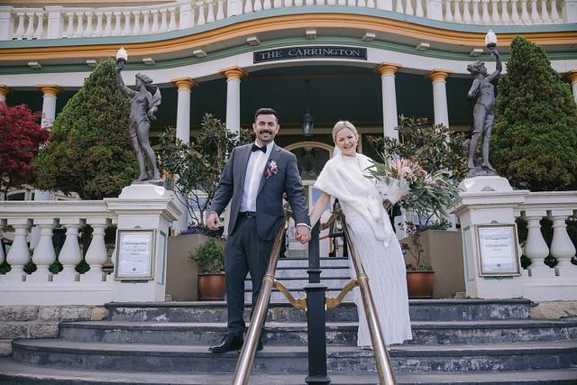 Stephanie + Mark | Everglades Gardens | Carrington Hotel, Katoomba