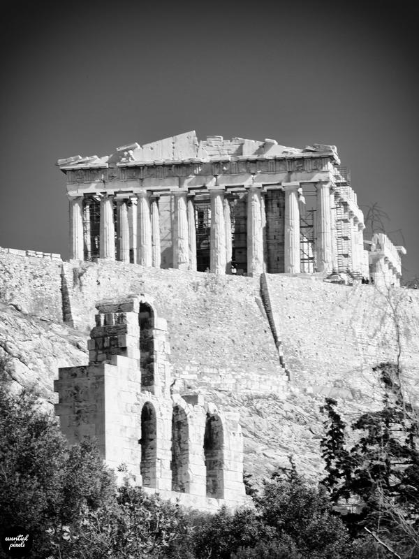 Greece in B&W