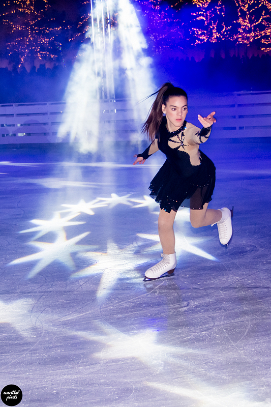 Ice skating exhibition @ SNFCC