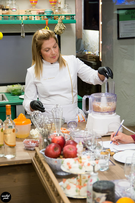 Cooking lessons @ Yolenis with Dina Nikolaou