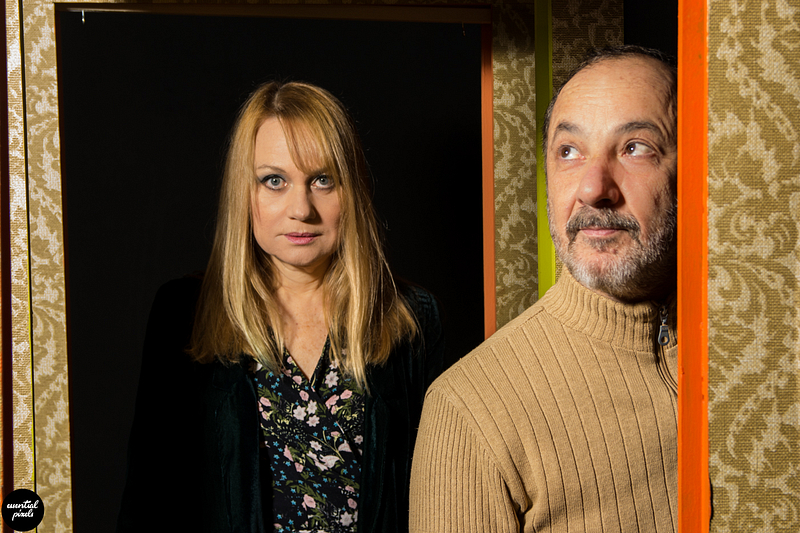 Actors interview photoshoot