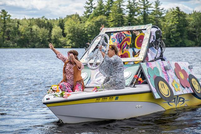 Country Pond Boat Parade
