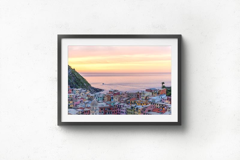 Vernazza Sunrise