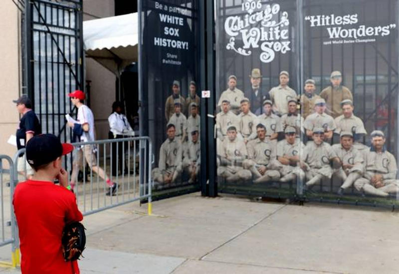 The Daily Herald: Artist Brings White Sox History to Life by Colorizing Old Pictures (07/28/2018)