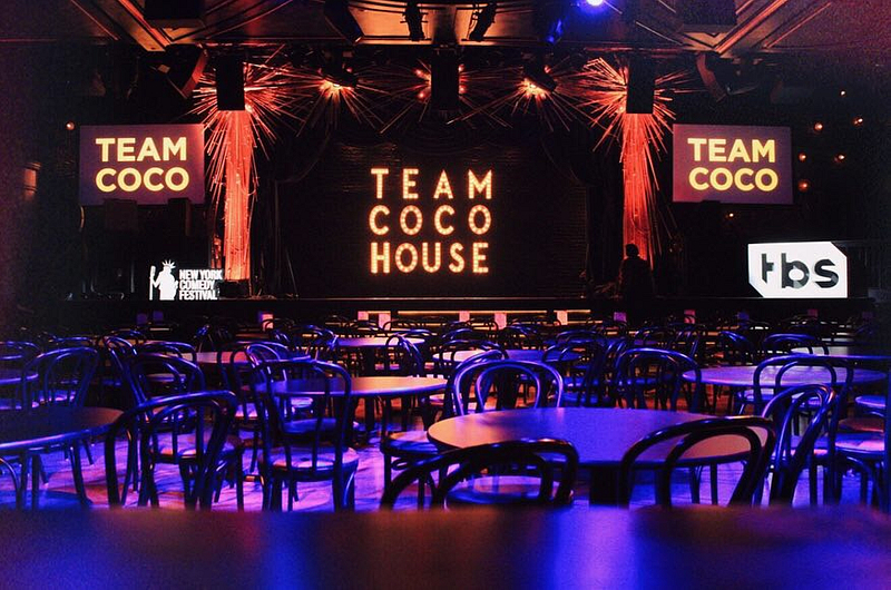 TBS TEAM COCO HOUSE - NEW YORK COMEDY FESTIVAL 2018