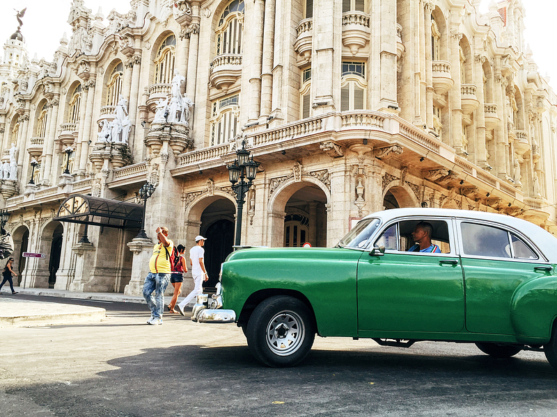On assignment in Cuba for Moment Lens