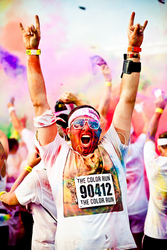 The Brooklyn Color Run 2012