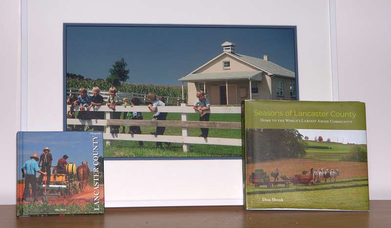 Seasons of Lancaster County PA Photo Book by Don Shenk