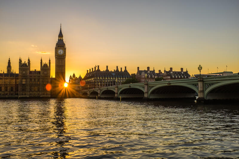 How it was shot: Westminster sunset