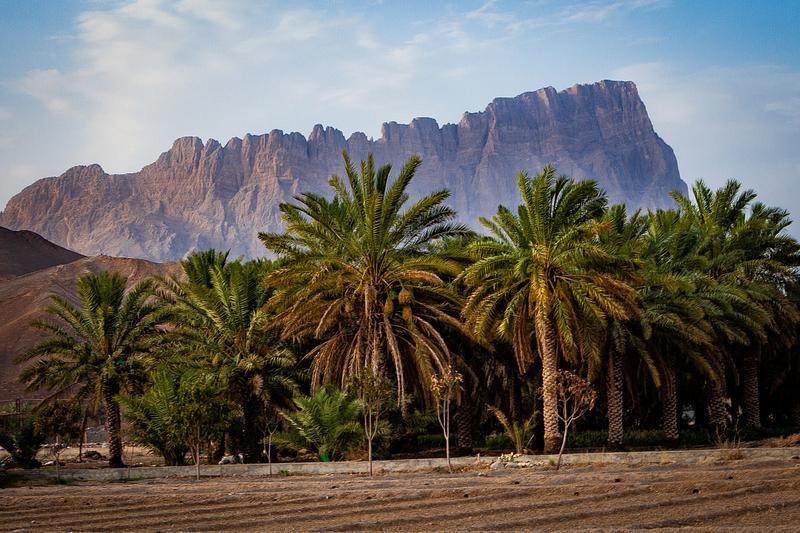 Jebel Misht, the tallest cliff in the Arabian Peninsula (5,554 feet).