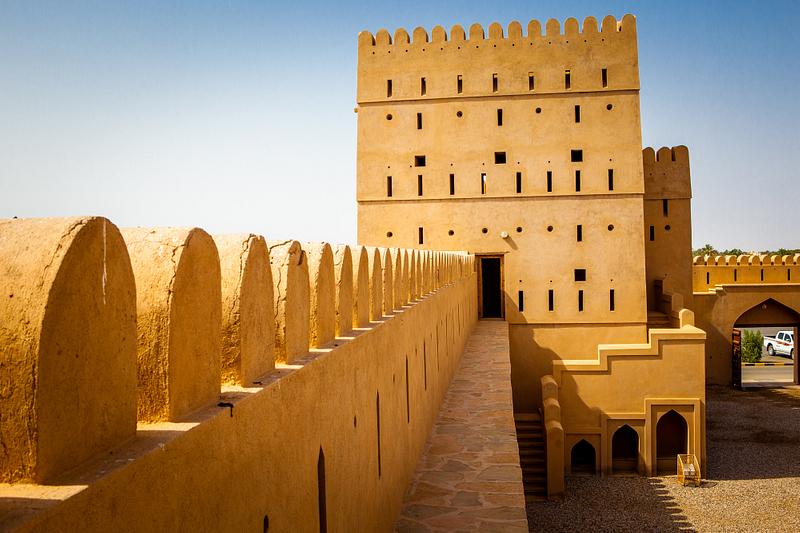 Ramparts. Ibri Fortress.