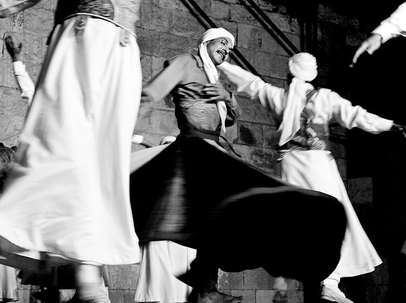 Sufis seeking unity with God. Cairo.