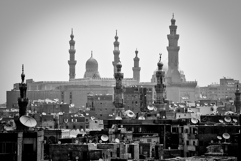 Dishes and Domes. Cairo.
