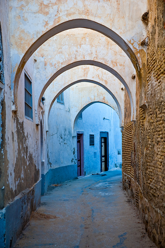 Street in the holy city of Kairouan.