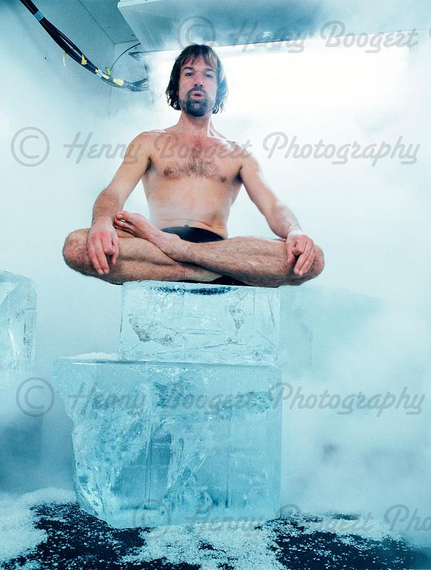 Wim Hof alias 'the Iceman'