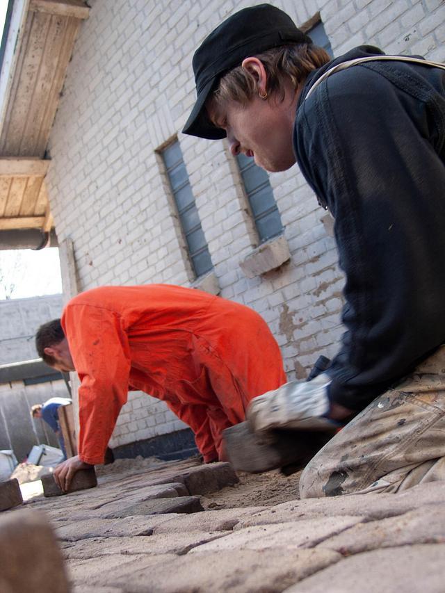Het Domijn 2007  stratenmakers