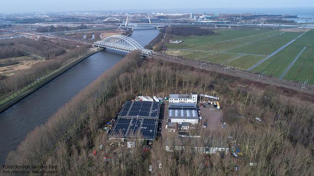 Het Domijn 2017 vanuit de lucht met drone.