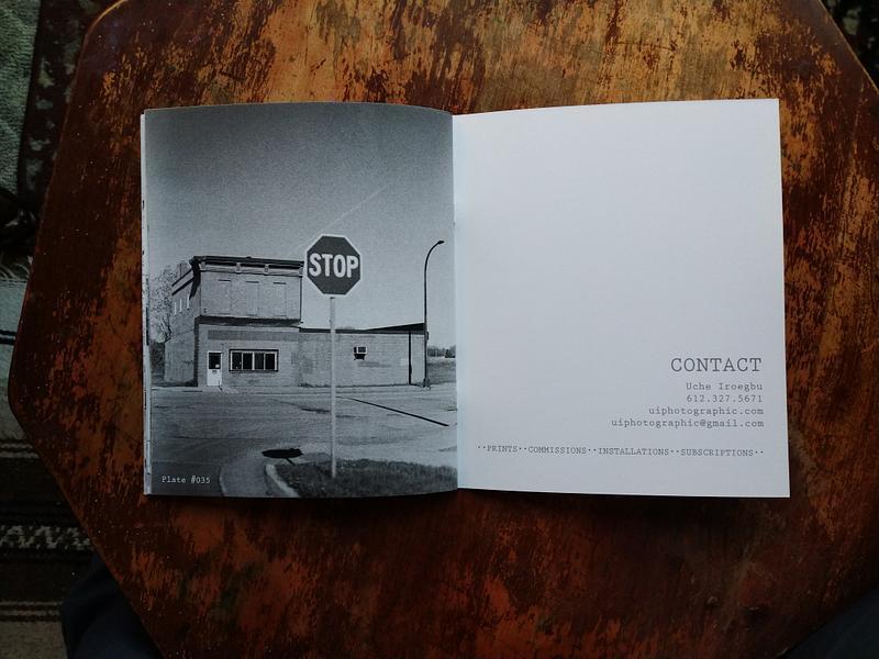 MINN STREETS (B&W) EDITION ISSUE ONE.