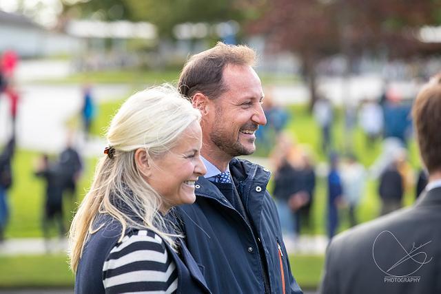 Kronprinsparet i Florø