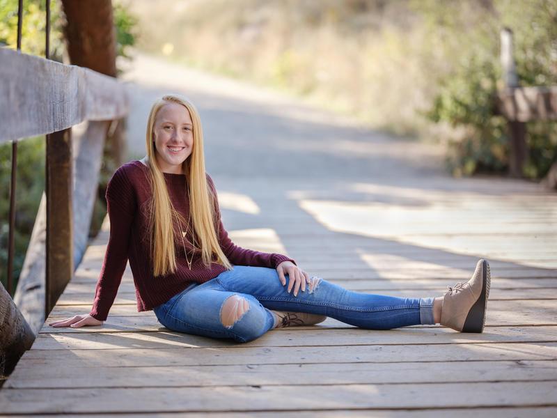 High School Senior Portraits, Colorado