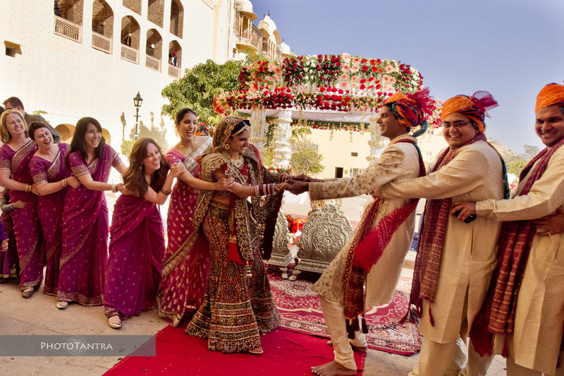 Destination Wedding in Jaipur: Harish and Ruchika, Samode Palace