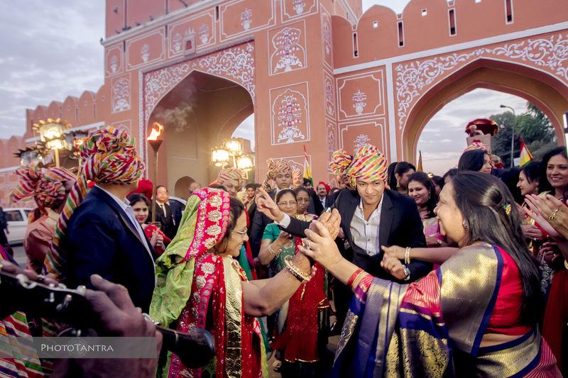 Destination Wedding in Jaipur: Anushree and Dhruv, The Raj Palace
